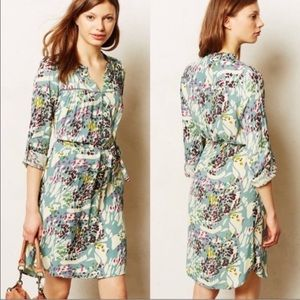 Anthro Dolan Belted Shift Summer Dress